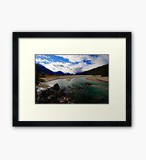 Dart River Framed Print