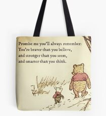You Are BRAVE Tote Bag