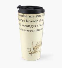 You Are BRAVE Travel Mug