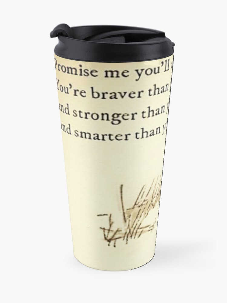 Alternate view of You Are BRAVE Travel Mug