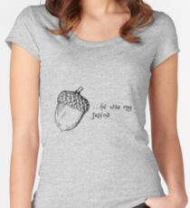 Bilbo Thorin Acorn Women's Fitted Scoop T-Shirt