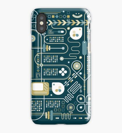 Circuit iPhone Case/Skin