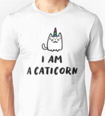I Am a Caticorn Cat Unicorn T-Shirt