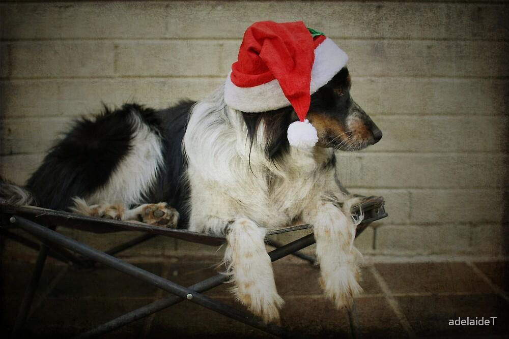 Christmas Dog by adelaideT