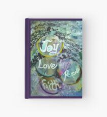 Joy, Love, Peace and Faith Hardcover Journal