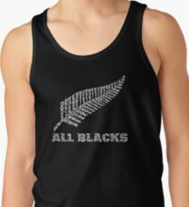 "The Rugby Team ""All Blacks"" of New Zealand  Tank Top"