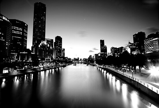 Melbourne City by Ahmad Sabra