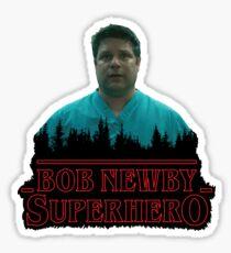 Stranger Things - Bob Newby Superhero Sticker