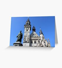 Icons of Aalst, Belgium Greeting Card