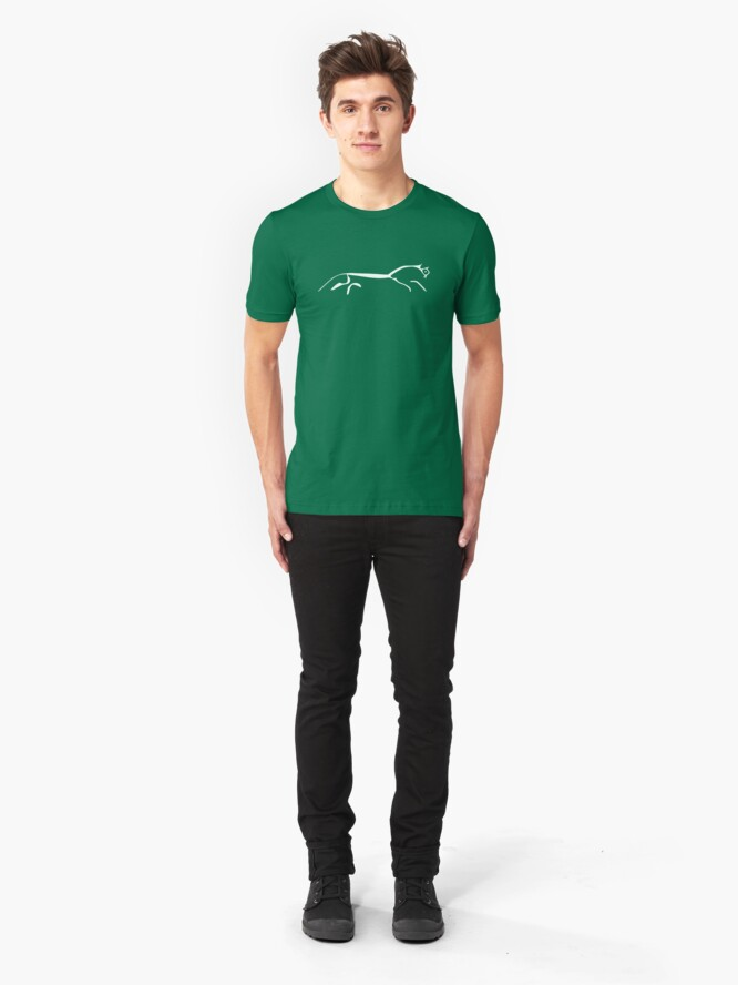 Alternate view of White Horse Slim Fit T-Shirt