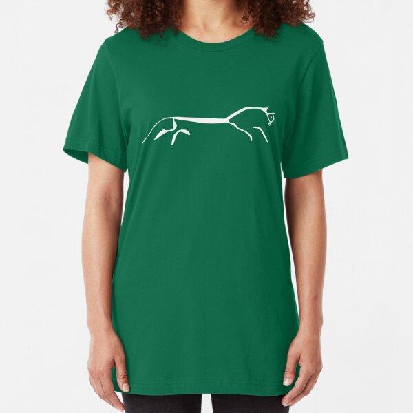 White Horse Slim Fit T-Shirt