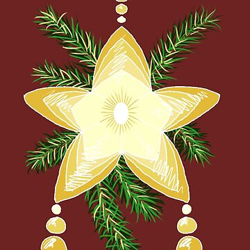 Christmas Star by SidelineArt
