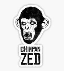 Chimpan ZED Sticker