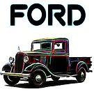 1935 Ford Pickup  by crimsontideguy