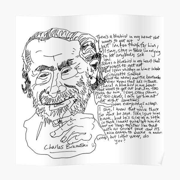 Charles Bukowski Póster