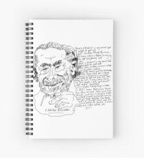 Cuaderno de espiral Charles Bukowski
