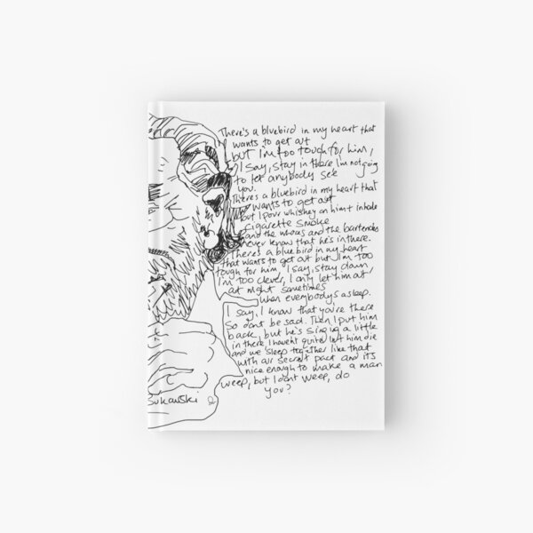 Charles Bukowski  Hardcover Journal