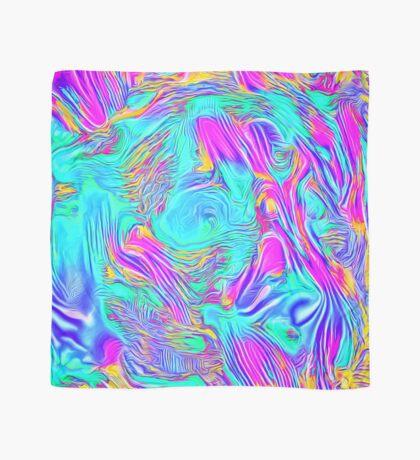 Abstract Blue zodiac color #7E9DD8 Scarf