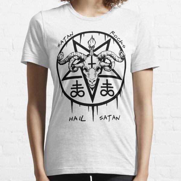 HAIL SATAN - SATAN ROCKS - BAPHOMET Essential T-Shirt