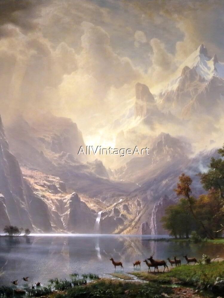 sierra nevada painting albert bierstadt