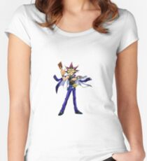 Yu-Gi-Oh! : Yami Yugi  Women's Fitted Scoop T-Shirt