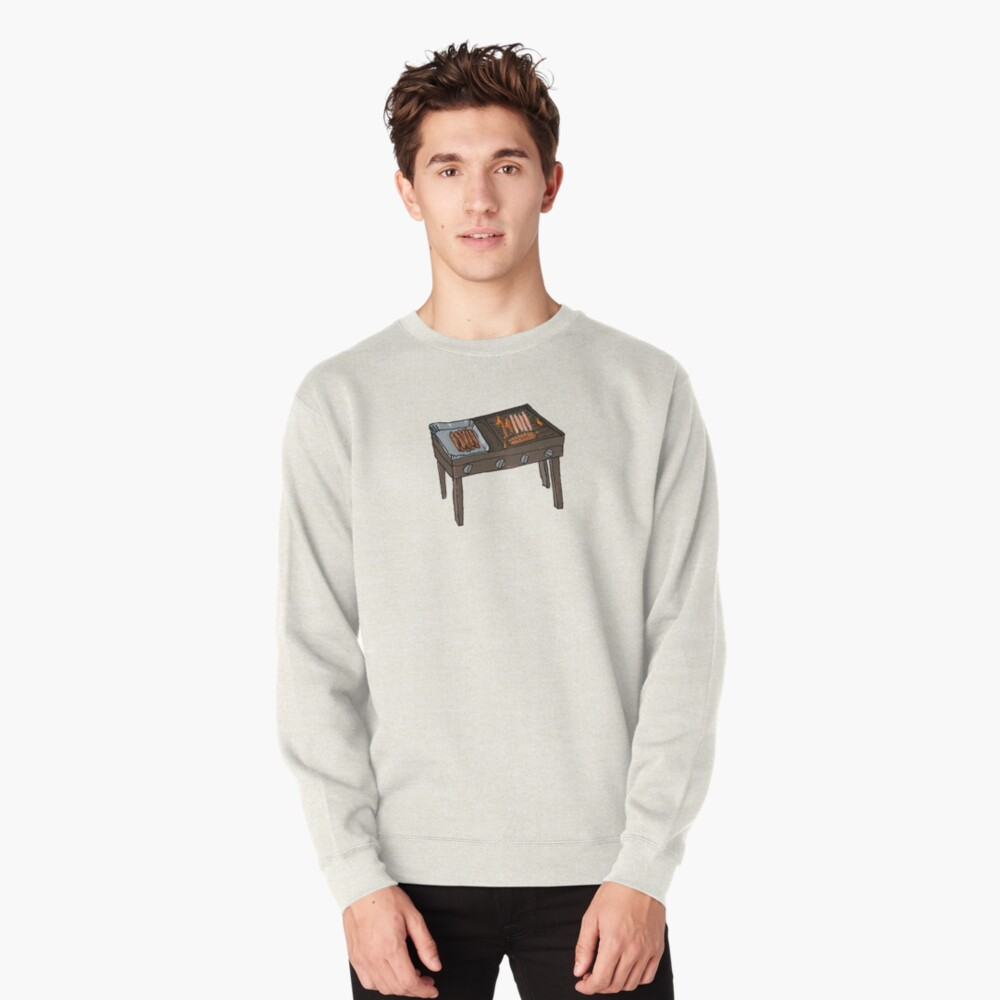Snags on the BBQ Pullover Sweatshirt