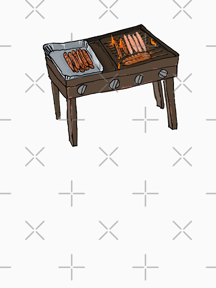 Snags on the BBQ by strayastickers