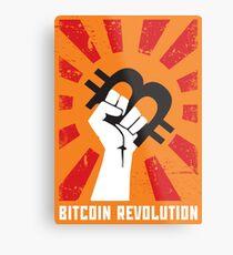 Bitcoin revolution Metal Print
