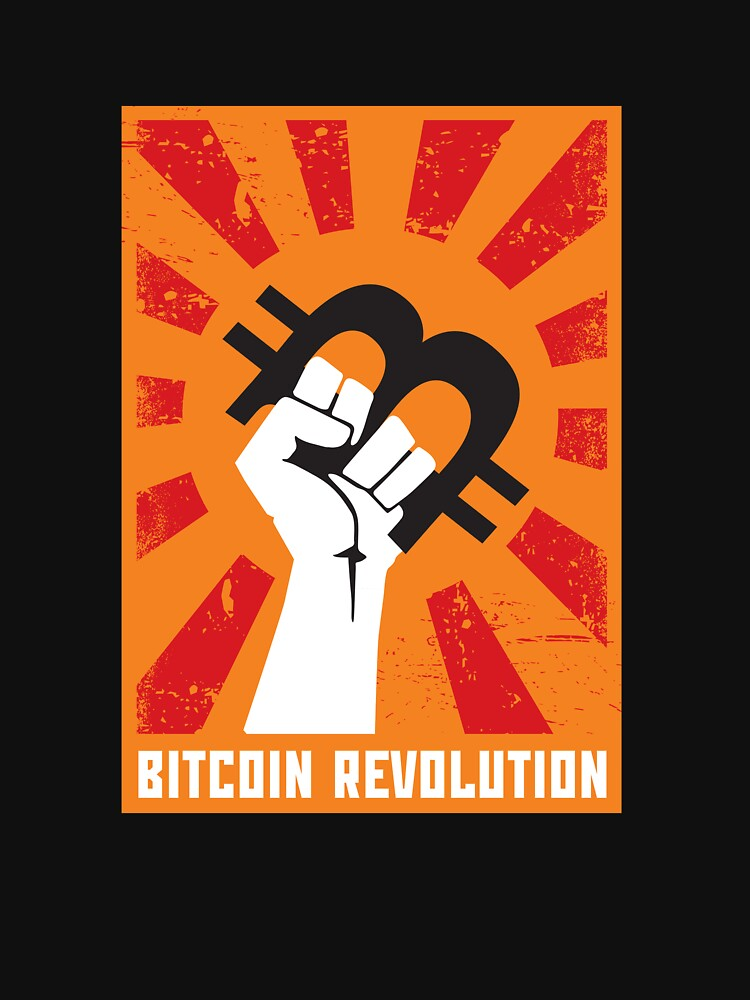 Bitcoin revolution by SergeScrawl