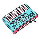 Pink midi keyboard  by theeighth