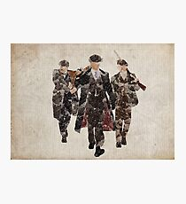 Shelby Boys (Arthur, Tommy, and John) from Peaky Blinders Photographic Print