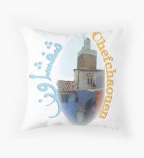 Chefchaouen Throw Pillow