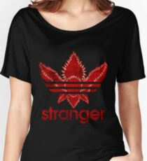 Stranger Things Adidas Women's Relaxed Fit T-Shirt