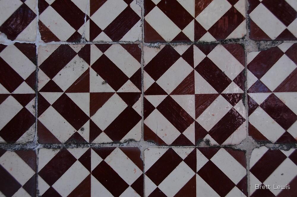 Tiles 5, Porto, Portugal by Brett  Lewis