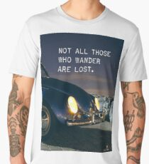 Awesome quote for travellers  Men's Premium T-Shirt