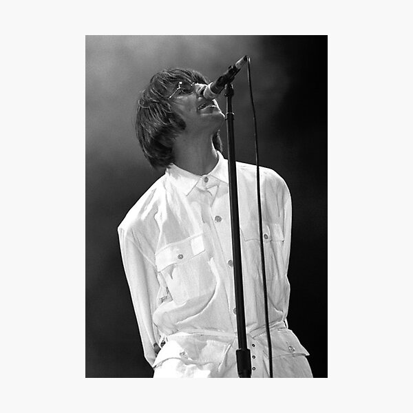 Liam Gallagher Knebworth  Photographic Print