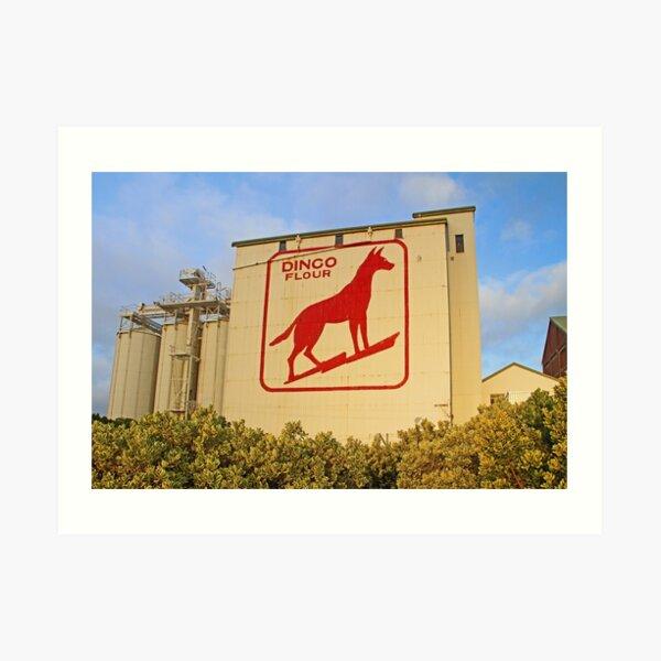 Dingo Flour Mill  Art Print
