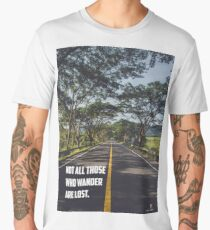 Good travel quote Men's Premium T-Shirt