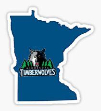 Minnesota Timberwolves Sticker Sticker