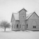 Church in winter by Diana Calvario