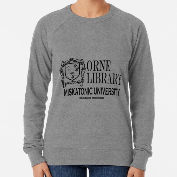 Orne Library - Miskatonic University Lightweight Sweatshirt