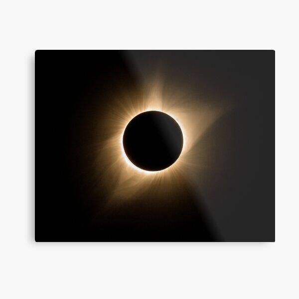2017 Total Solar Eclipse - Corona IIIa Metal Print