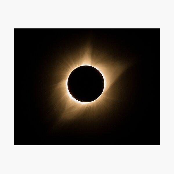 2017 Total Solar Eclipse - Corona IIIa Photographic Print