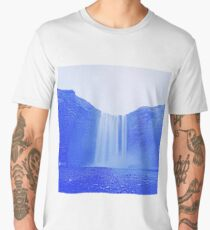 The waterfall by Adam Asar Men's Premium T-Shirt