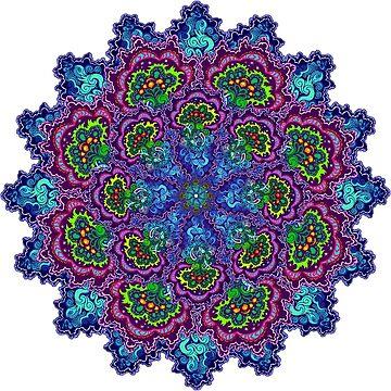 Bluemungus mandala by serge-o-sketch