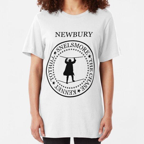 Newbury(snelsmore, black text, 402) Slim Fit T-Shirt