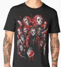 Jason Voorhees (Many faces of) Men's Premium T-Shirt