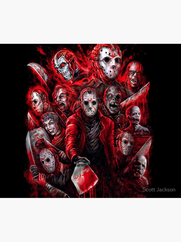 Jason Voorhees (Many faces of) by themonsterstore