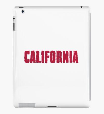 California Distressed Style iPad Case/Skin
