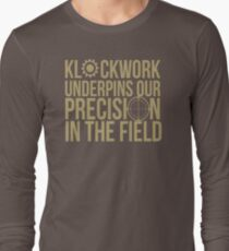 Klockwork Underpins Our Precision In The Field KK695 New Product T-Shirt